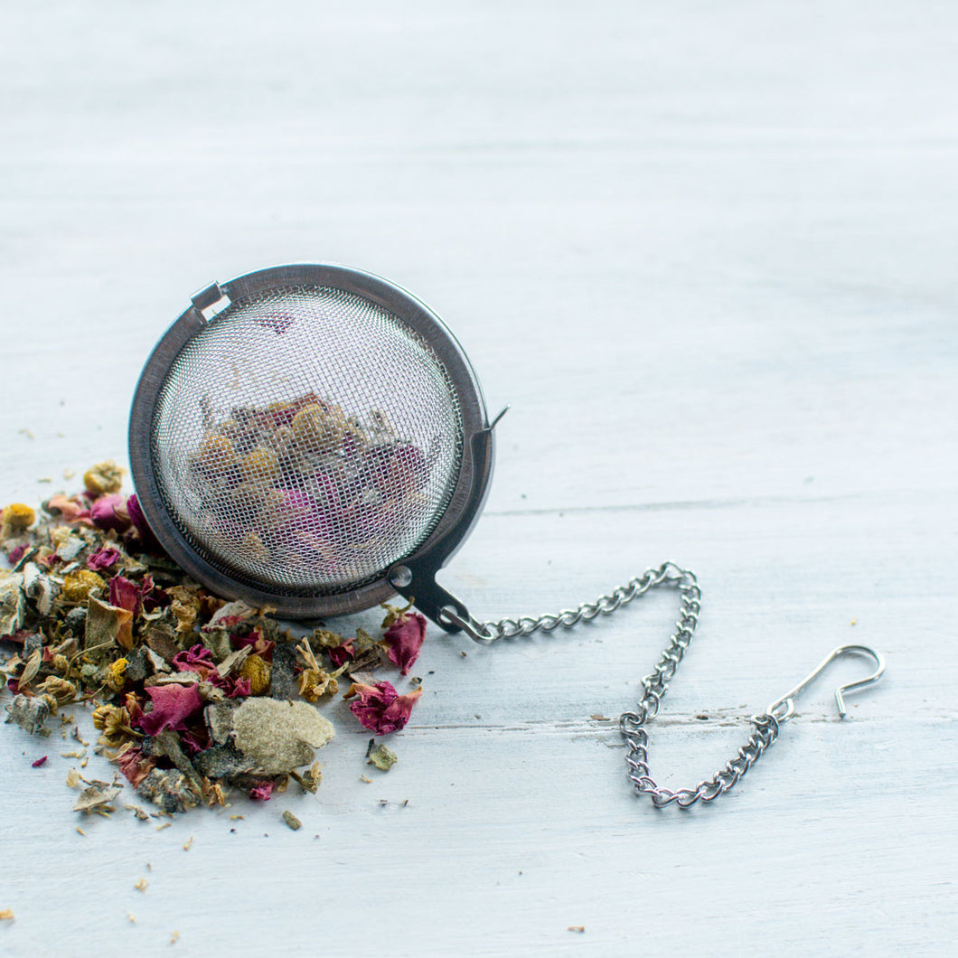 Reusable Herbal Tea & Bath Soak Ball