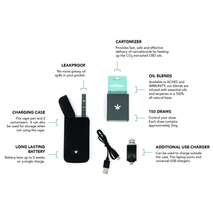 Wildflower Rechargeable CBD Vaporizer Battery (CBD Cartomizer Not Included)