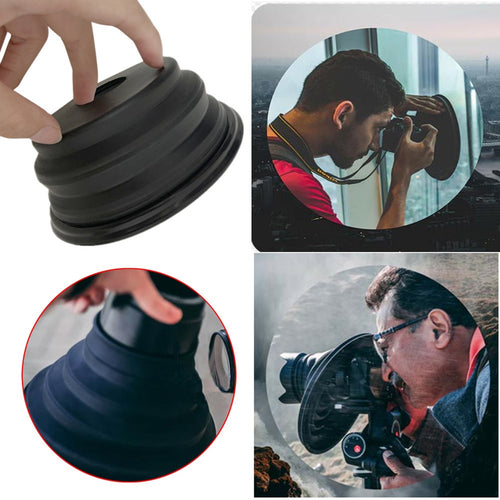 The Ultimate Camera Lens Hood - Anti-Glare And Reflectoin
