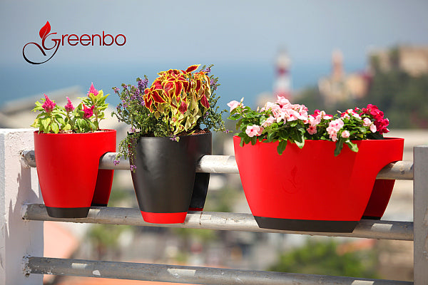 Greenbo Planter - Black