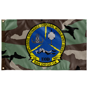 EOD MOBILE UNIT 7 3' X 5' INDOOR FLAG