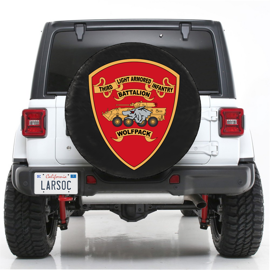 3D LAI BN SPARE TIRE COVER