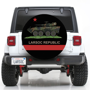 LARSOC REPUBLIC SPARE TIRE COVER