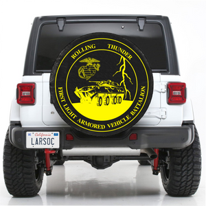 1ST LAV BN SPARE TIRE COVER