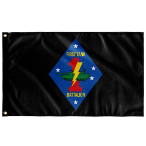 1ST TANK BN 3' X 5' INDOOR FLAG