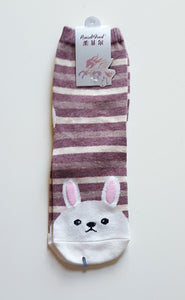White Rabbit Crew Socks