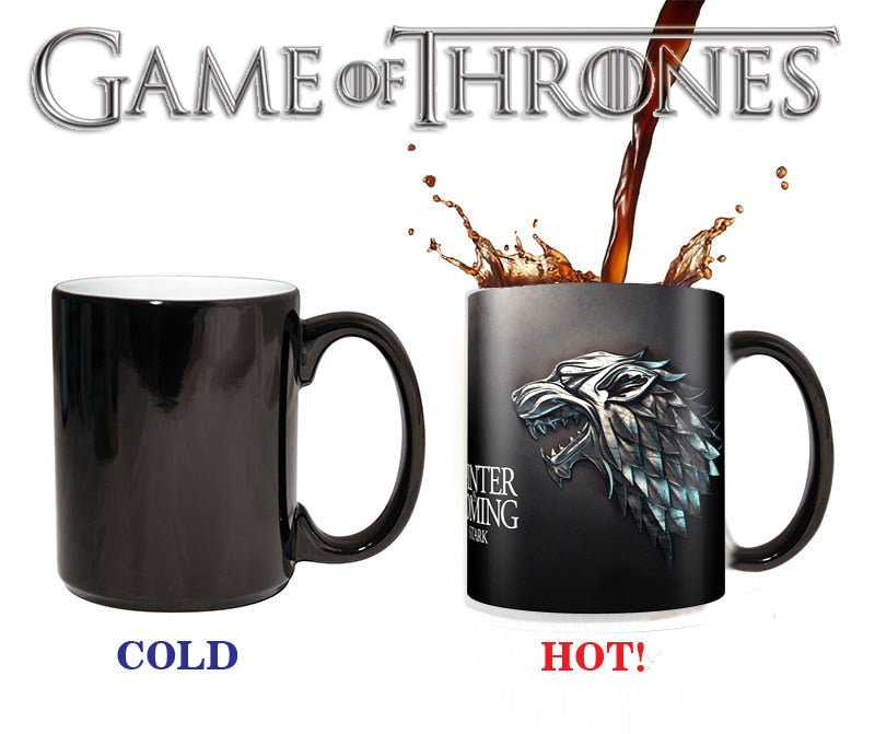 Game of Thrones Color Changing Cups