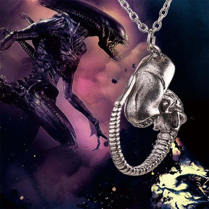 Predator Covenant Necklace Alien