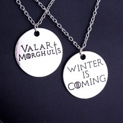 Couple Game of Thrones Necklace and Pendant