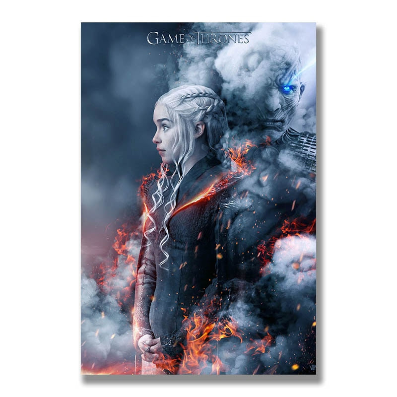 Game of Thrones Silk Wall Posters