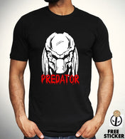 Alien Predator Classic Retro Movie T Shirt