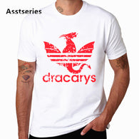 Dracarys Game Of Thrones White T-Shirt