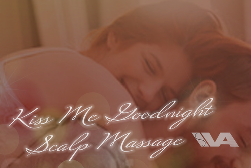 6hr Kiss Me Goodnight + Relaxing Scalp Massage (Sleep Triggers & Sleepy Breathing Sounds)