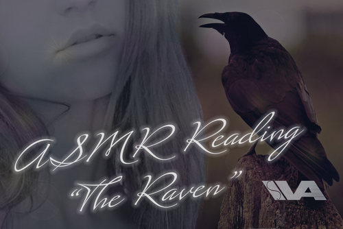 ASMR Reading Girlfriend Kisses ~ Scary Halloween Story The Raven By Poe (Soft Spoken) (Tingles) Full Version