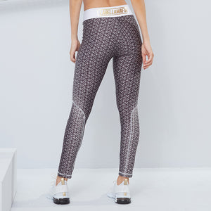 Legging Gris & Blanco