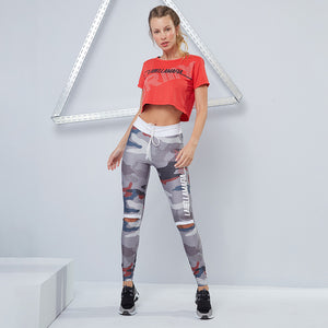Cropped Rojo - ARMY