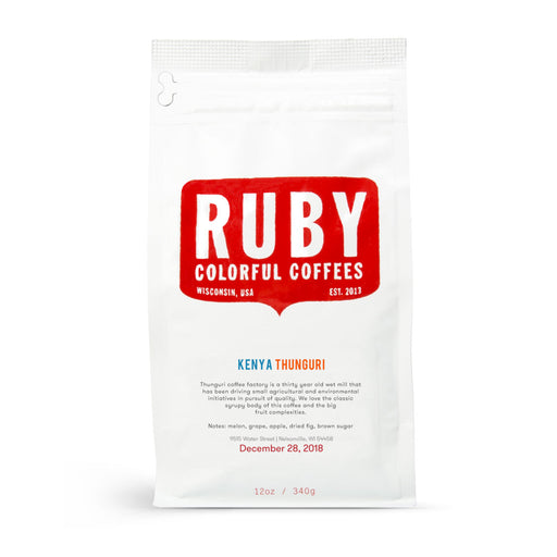 Kenya Thunguri - Ruby Coffee Roasters - Sixth Wave