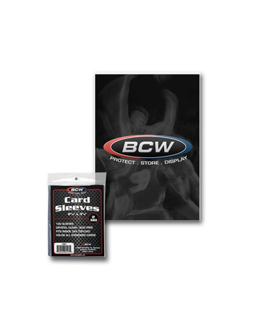 BCW Standard Card Sleeves 100ct