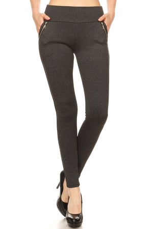 Ladies Premium Treggings
