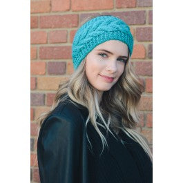 Twisted Knot Knit Crochet Headband