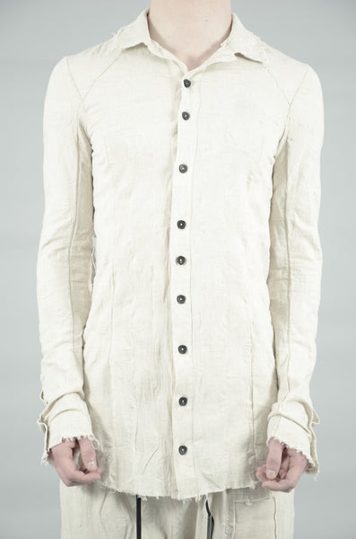 CONTRA STRUCTURED BUTTON UP SHIRT 44 SAND