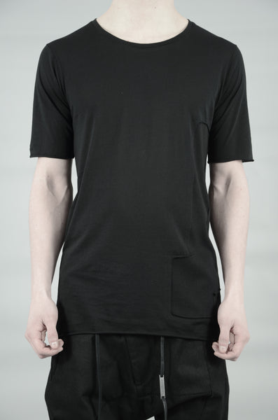 PATCHED T-SHIRT 23 BLACK