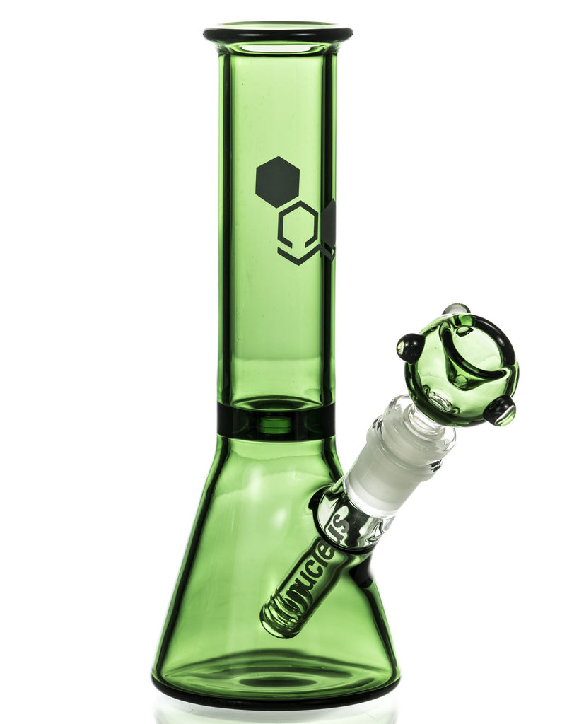 """Basics"" 8"" Full Color Beaker Bong"
