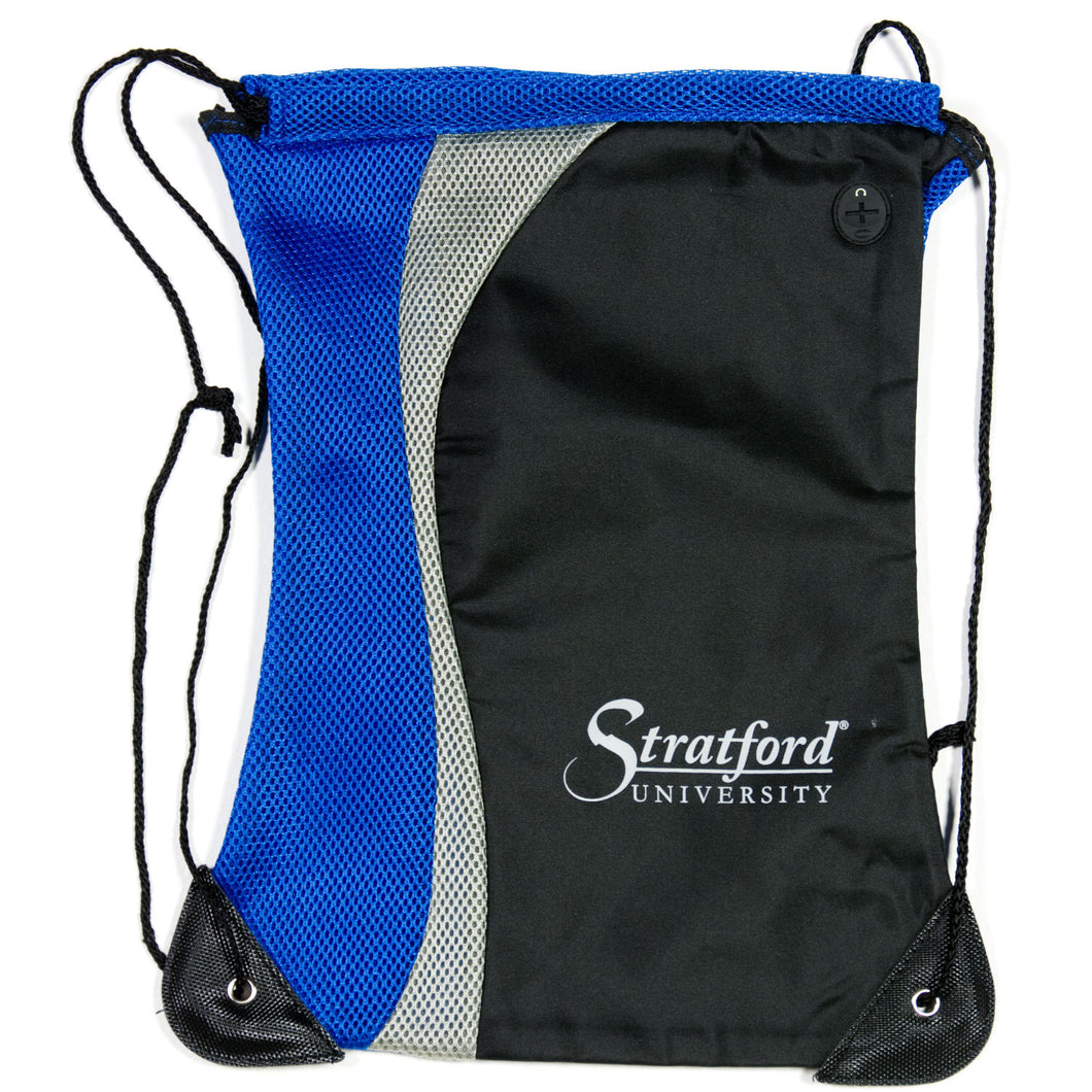 Stratford University- Mesh Draw String Backpack