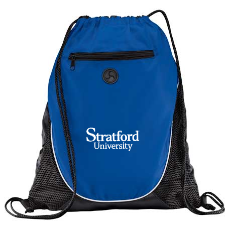 Stratford University-Draw String Backpack