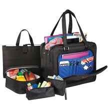 "Professional 5-Piece 15"" Computer Tote Bag"