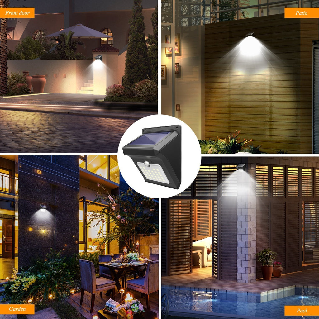 Factory Outlet-Outdoors Waterproof Solar Motion Sensor Light