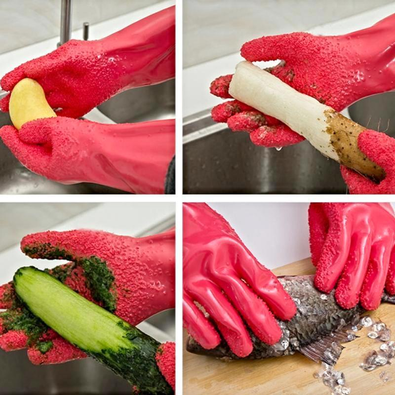 50%OFF-Vegetable Cleaner Gloves