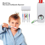 (Hot Sale )Automatic Toothpaste Dispenser+FREE Toothbrush Holders