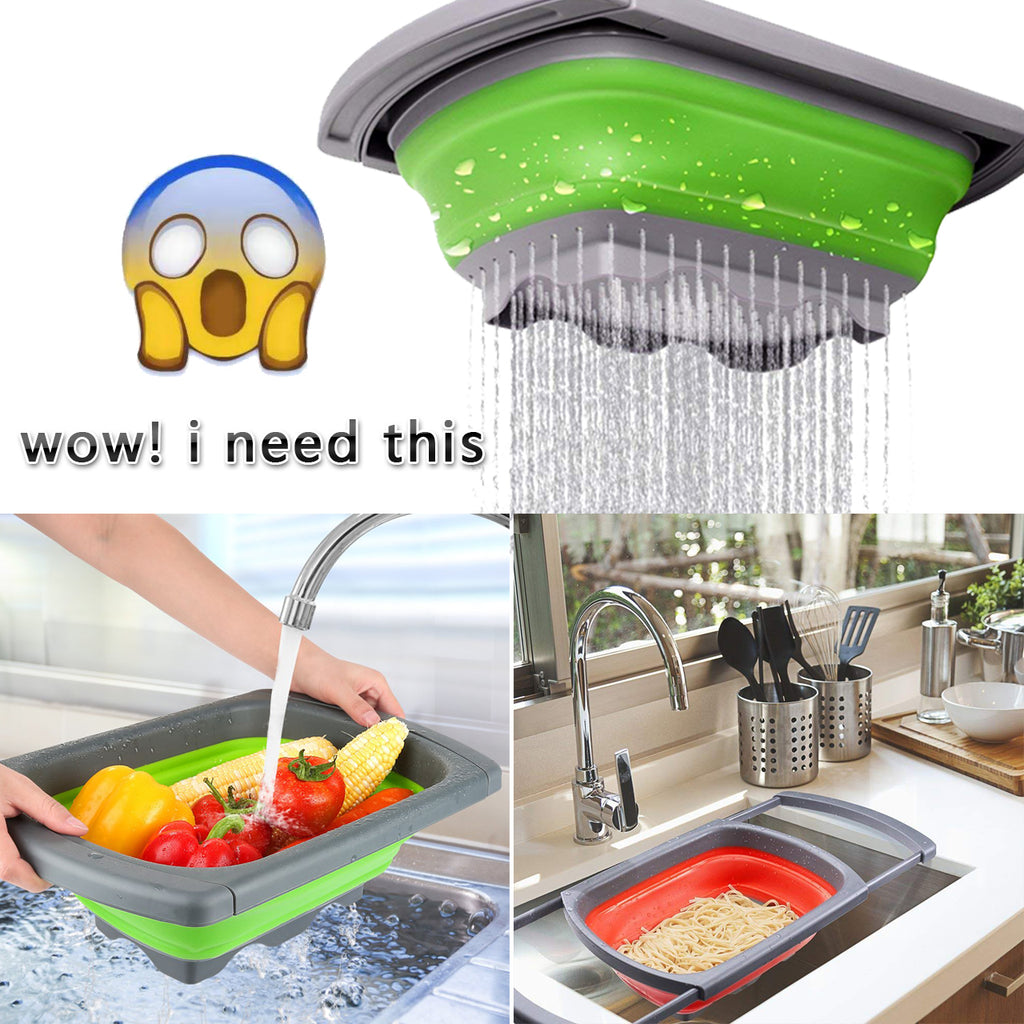 Foldable Kitchen Colander