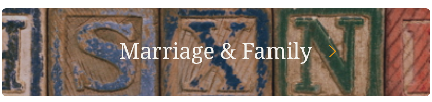Marriage & Family