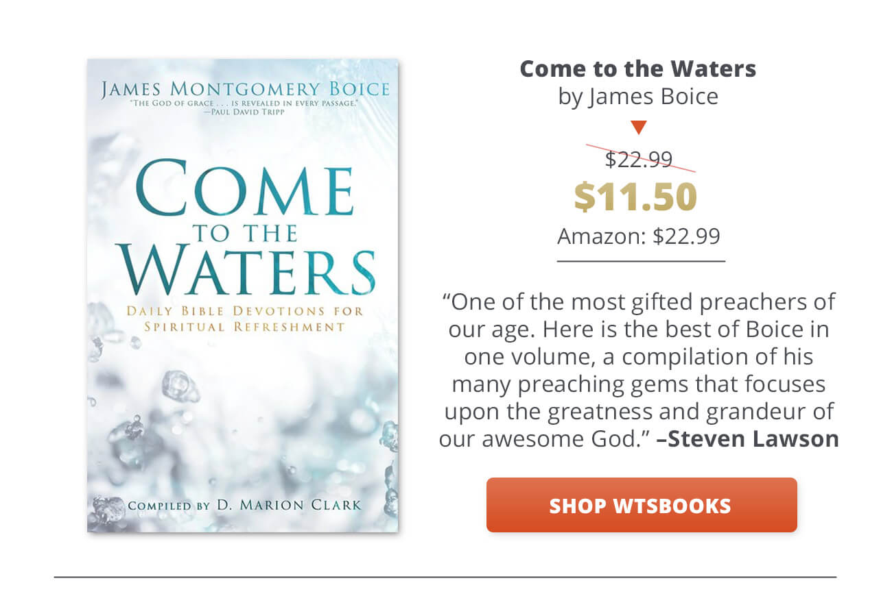 Daily Devotionals 2018 – Westminster Bookstore