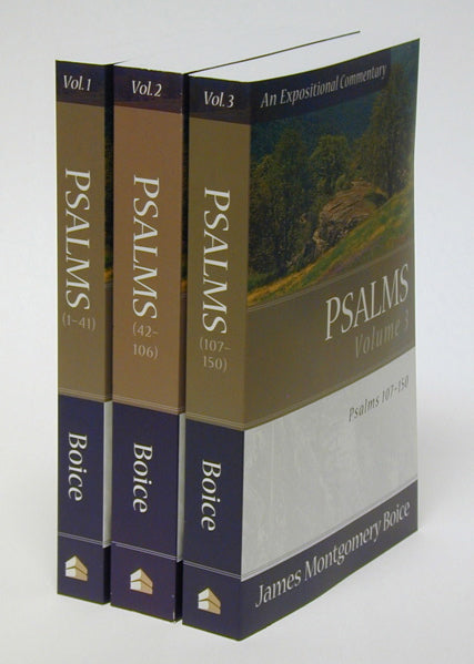 Psalms, 3 Volumes (Boice Expositional) Boice, James Montgomery cover image