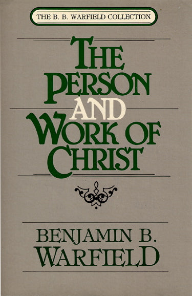 Person and Work of Christ