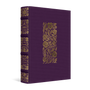 ESV Illuminated Bible, Art Journaling Edition (Cloth Over Board, Eggplant)