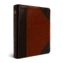 ESV Single Column Journaling Bible (TruTone, Brown/Cordovan, Portfolio Design)
