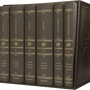 ESV Reader's Bible, Six-Volume Set (Cloth Over Board) cover image