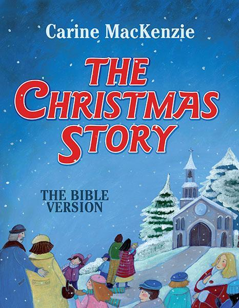 The Christmas Story Book.The Christmas Story The Bible Version