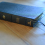 ESV Heirloom Thinline Bible (Goatskin, Blue)