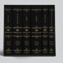 ESV Reader's Bible, Six-Volume Set With Chapter and Verse Numbers (Cloth over Board with Permanent Slipcase)