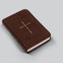 ESV Vest Pocket New Testament with Psalms and Proverbs (TruTone, Dark Brown, Cross Design)