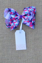 Purple Bow Tag