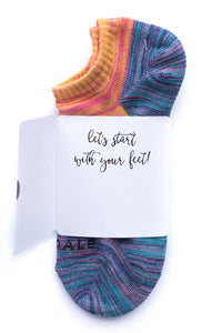 You deserve some pampering Sock Card - Her