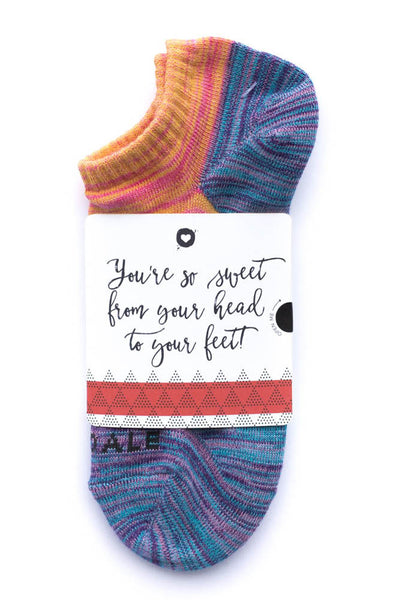 Valentine's Day Sock Card - Her