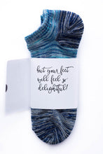 The weather outside may be frightful Sock Card - Him