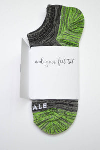 I really love you Sock Card - Her